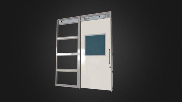 SLR-40壁収納タイプ 3D Model