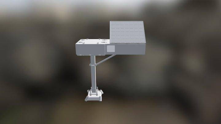 Drone Station V1 2 Animation 3D Model