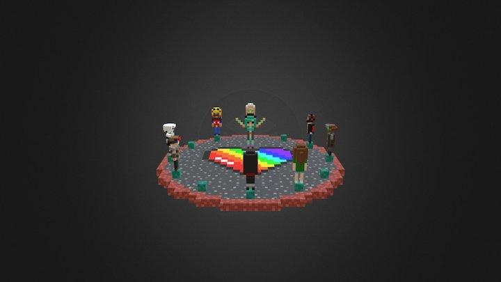 Voxel:Minecraft | Wyntr's Sub UHC 1 3D Model