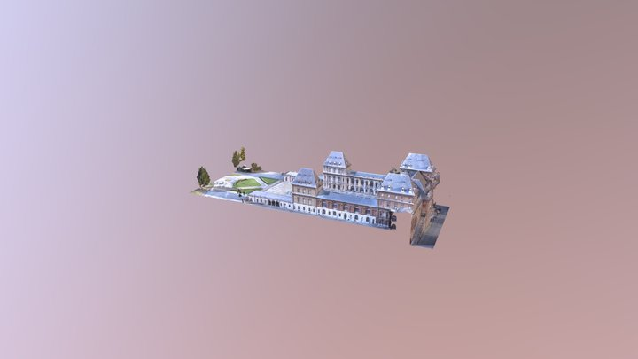 Test castello 3D Model