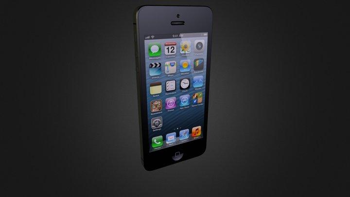 Iphone 5.zip 3D Model