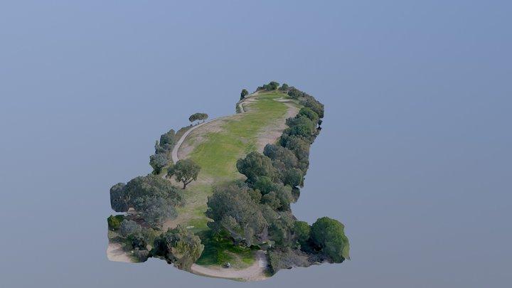 Real Club de Golf Cordoba, Hoyo17 3D Model
