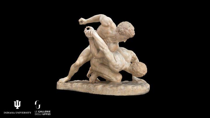 The Wrestlers Inv. 1914 n. 216 3D Model