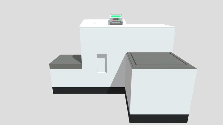 Generic Self Service machine 3D Model
