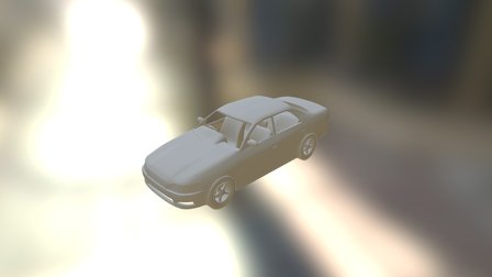 Toyota Mark 2 witout texture and optimization 3D Model