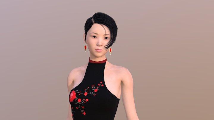 Hitomi 3D Model