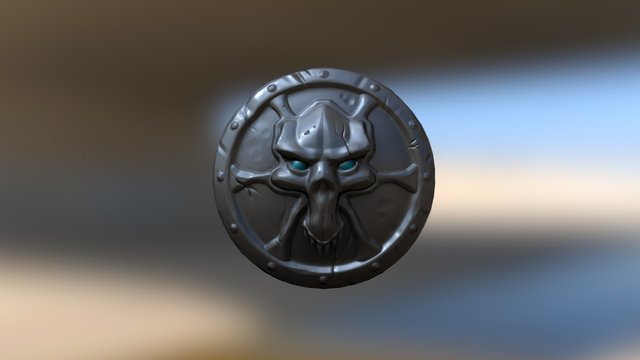 Korlocshield Low UV 3D Model