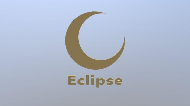 Eclipse 3D Logo 3D Model