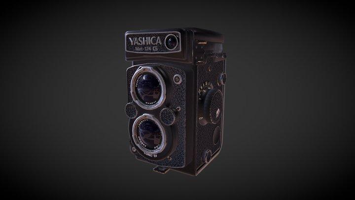 Yashica Mat-124 G 3D Model