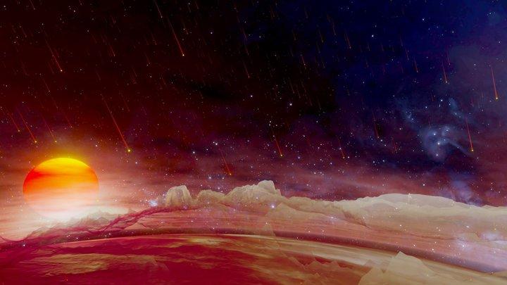 Wasp-76b, a planet where it rains liquid iron 3D Model