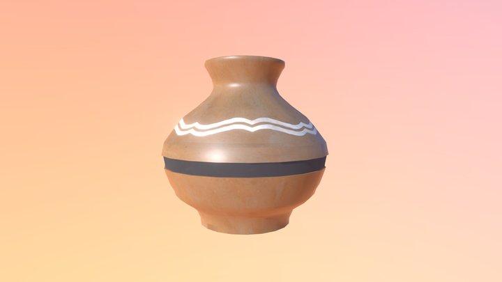 Zelda Small Pot 3D Model