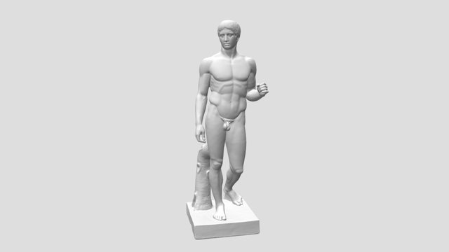 Doryphoros (The Spear Bearer) 3D Model