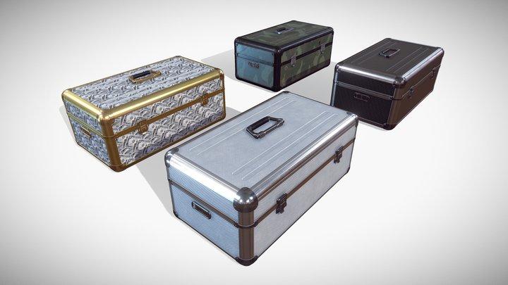 Metal Case 3D Model