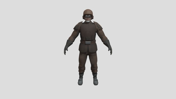 Corporate Sectory Authority Espo Trooper Var. 2 3D Model