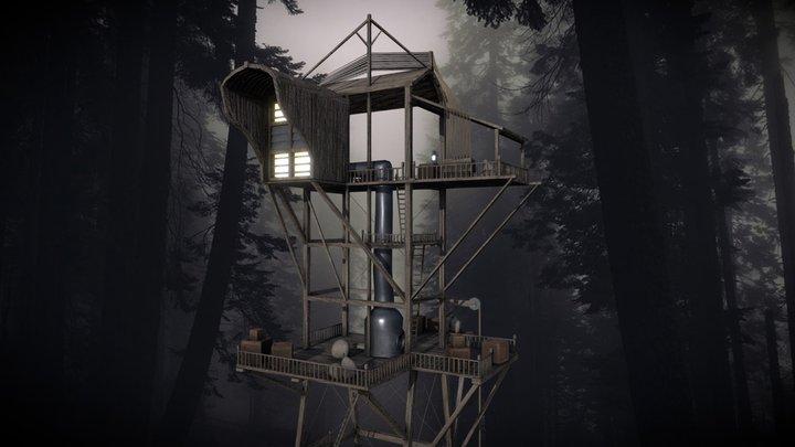Clacks Tower -Discworld- 3D Model