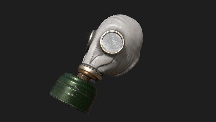 GP5 Russian Gas Mask 3D Model