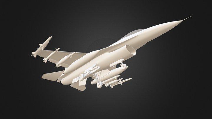 F-16C (Dirty) WIP 3D Model