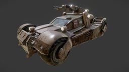 Quake Vehicle 3D Model