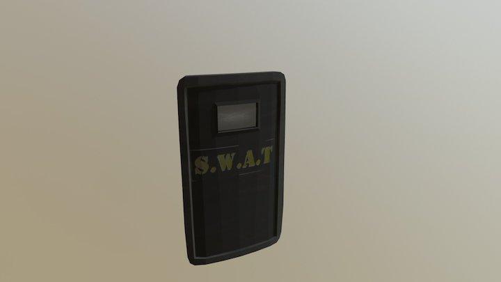 Riot Shield 3D Model