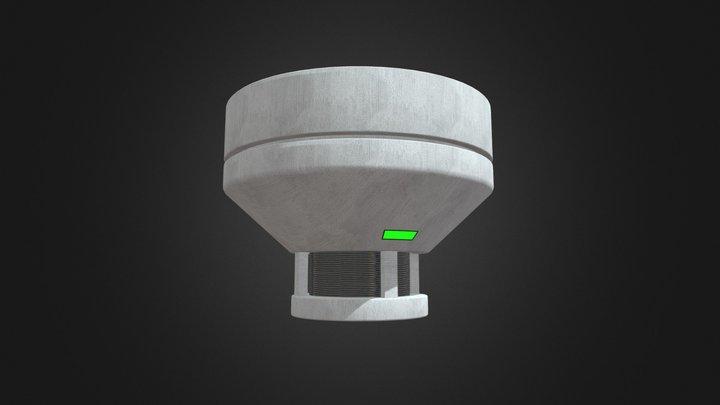 Smoke Detector A5 3D Model