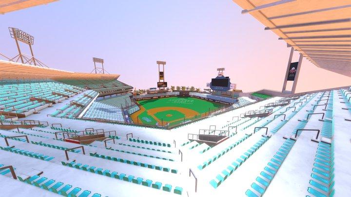 DG_Stadium 3D Model