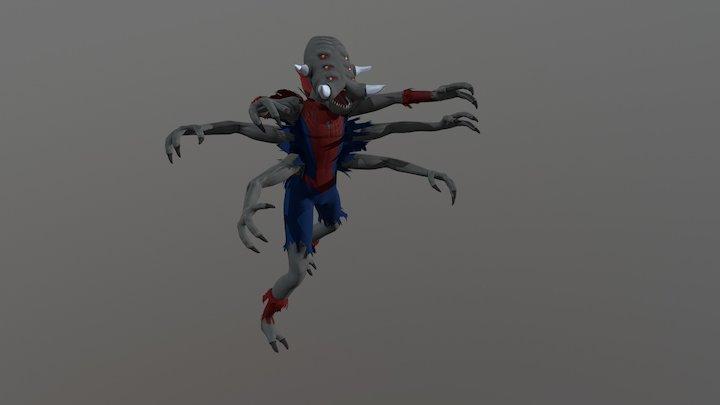 Man-spider 3D Model