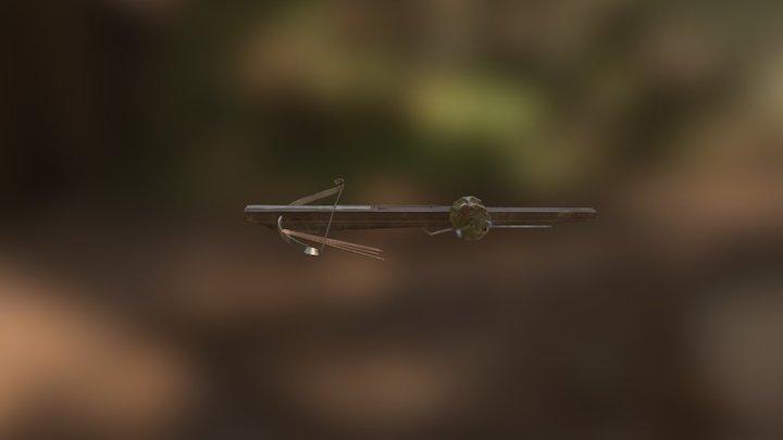 Crossbow Texture 3D Model