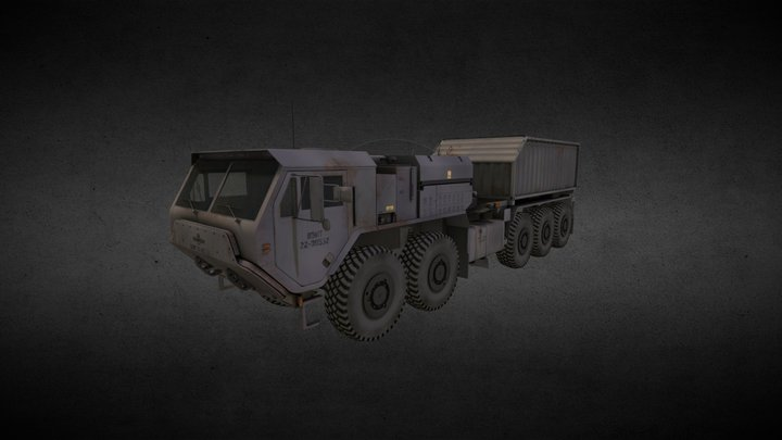 Bane Truck 3D Model