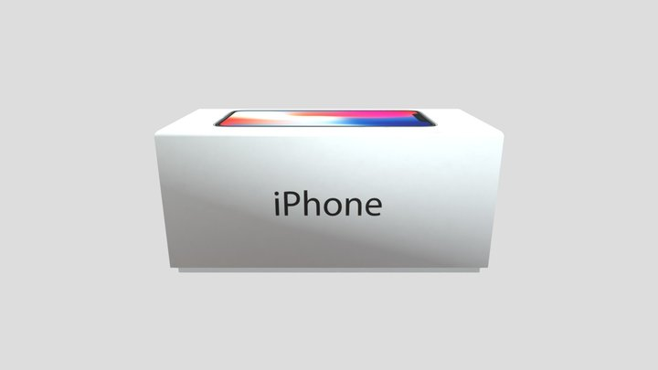 iPhone Box 3D Model