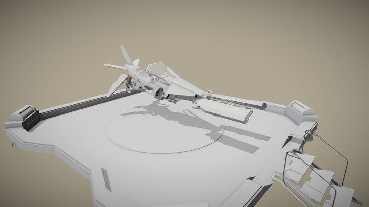 Pulsar Van Bergen A. - B3A1 - 26 Mars 3D Model