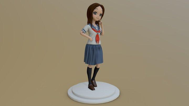 Takagi san 3D Model