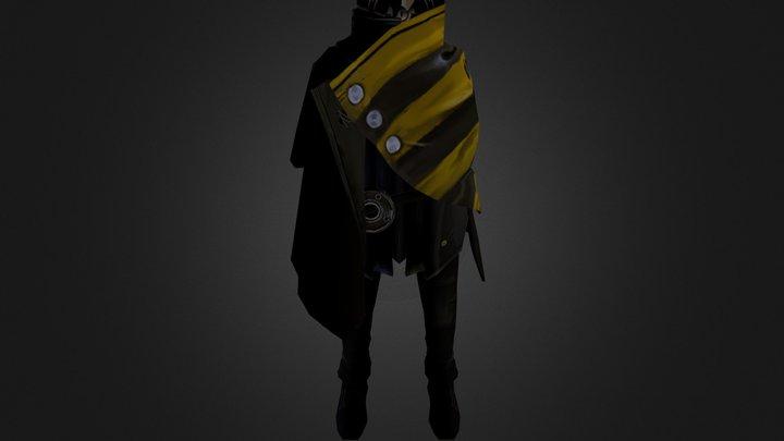 Fightpunch_final_obj 3D Model