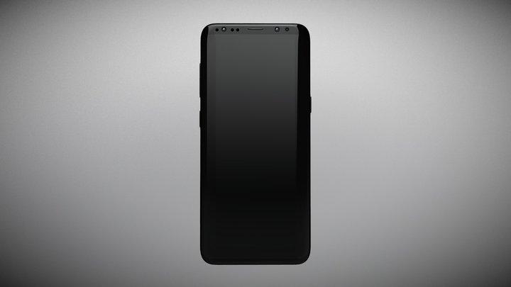 Samsung Galaxy S9+ 3D Model