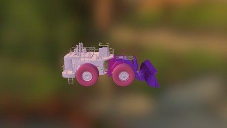 cargador frontal 1 3D Model