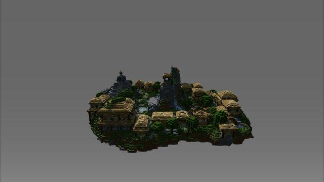 Azteque 3D Model