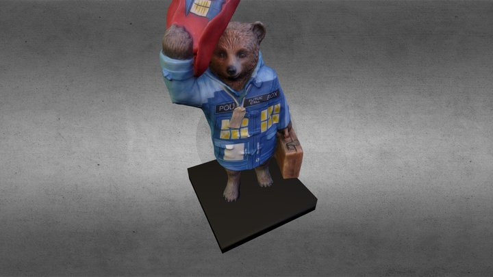 Paddington Who? 3D Model