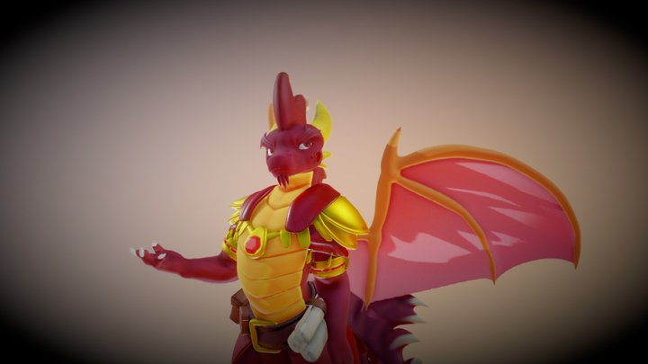 Fan-Art Elder Flame Reignited Trilogy 3D Model