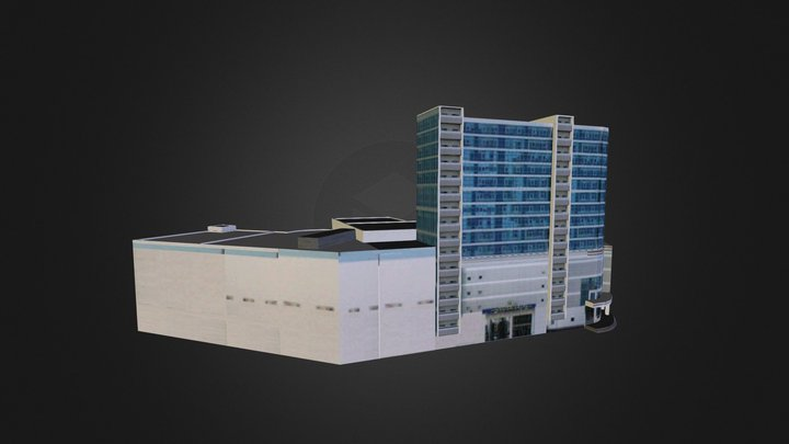 Kaz_Suvar_Plaza 3D Model