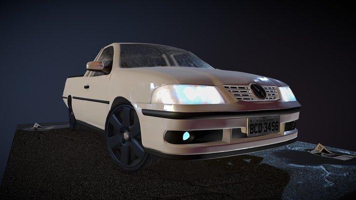 Saveiro G3 3D Model