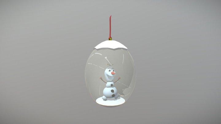 xmas tree toy (XYZ school speed draft) 3D Model