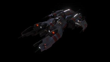 OBA Fighter 3D Model