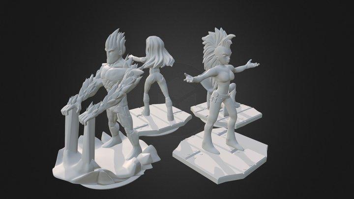 Disney Infinity Prints 05 3D Model
