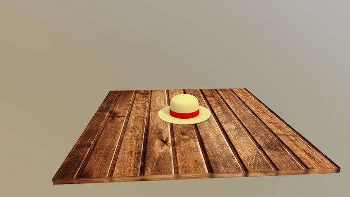 Luffy's straw hat 3D Model