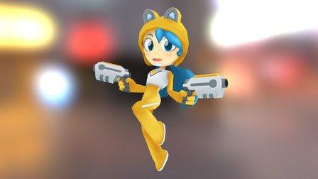 Zoey 3D Model