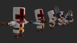 Sir Pixelot 3D Model
