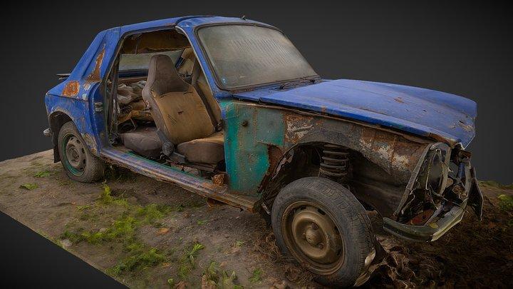Forgotten Rally Car 3d scan 3D Model