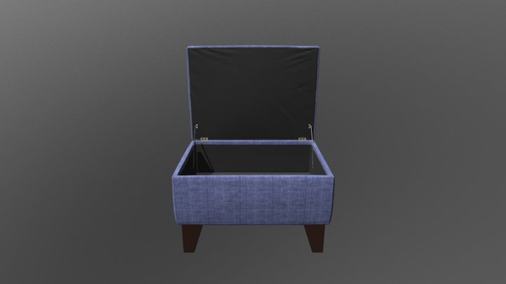 Weekend_Ottoman 3D Model