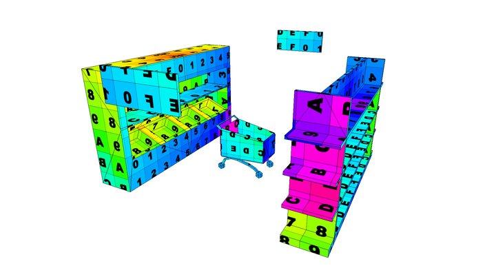 Shopfloor 3D Model