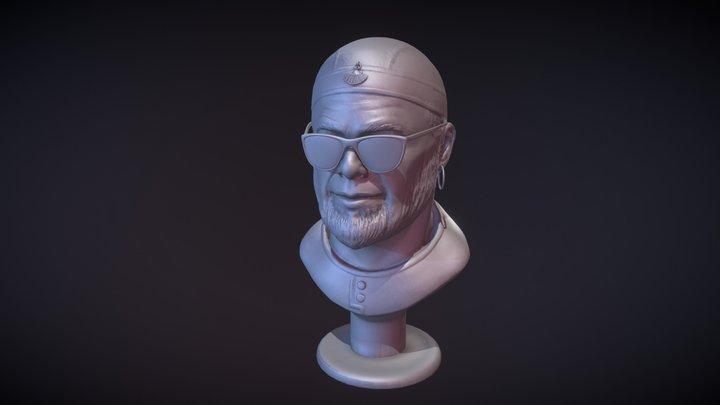 Boris Grebenshikov 3D Model