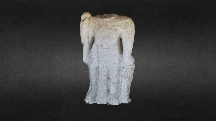 Monumento Nuevo Centla, Tabasco 3D Model